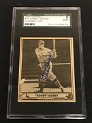 Hof Bobby Doerr 1940 Play Ball Signed Autographed Card 38 Red Sox Sgc Authentic