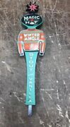 Magic Hat Brewing Company Winter Mingle Stout With Vanilla Beer Tap Handle