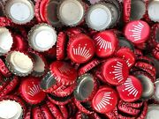 1000 Red Budweiser Crown Beer Bottle Caps No Dents Free Fast Shipping
