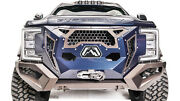Fab Fours Gr4100-1 In Stock And 250 Back Grumper Bumper - 17-19 Ford Super Duty