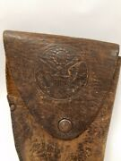 Antique American Leather Bodyguard Holster Great Seal Of United States