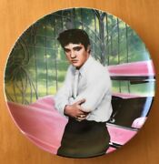 Elvis Presley Looking At A Legend Collectable Plate-plate 1 Of Series Numbered