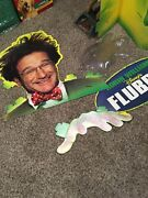 Vintage Promotional Robin Williams Display Also Includes A 3-d Framed Picture
