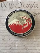 General Hokazono 30th Chief Of Staff Japan Air Self-defense Force Challenge Coin