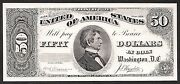 Proof Print By The Bep - Face Of 1891 50 Treasury Note