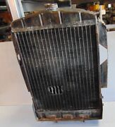 Mg Td Radiator-been Worked 6 Ways Till Sunday.-stay Away From Car Shows - B
