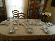 Heinrich And Co. China Bavaria Set For 8 W/ 7 Serving Pieces Mirri Hp 14-5