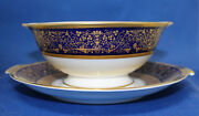 Rosenthal Dynasty Aida Gravy Boat With Attached Underplate Near Mint
