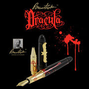 Acme Dracula Bram Stoker Le Fountain/rollerball Pen 063/999 With 65 Gift
