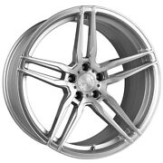 20 Vertini Rf1.6 Forged Silver Concave Wheels Rims Fits Mercedes W221 S550 S63