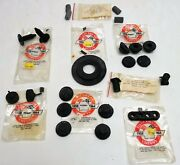 8 Assorted Rubber Parts And Grommet 1958 1959 1960 61 62 63 1964 Chevrolet Pontiac