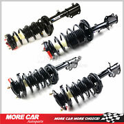 4x Complete Strut Spring Shock Absorber Fit 93-02 Toyota Corolla Chevrolet 1.8l
