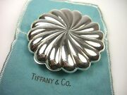 And Co Sterling Silver Swirl Compact Makeup Case Arden Veil And Mirror Italy