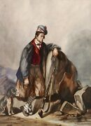 Alice Smith Drawing Watercolour Oil Painting Romantic Bellboy Scotland Scottish