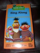 New Sealed Vhs Sesame Street Sing Along Vhs Super Rare Vintage Collectible