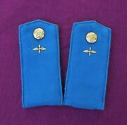 Rare Russian Soviet Air Force Soldier. Soft Shoulder Boards Arr. 1956