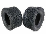 Massfx Sl201010x2 4 Ply Golf Cart Turf Tires 20x10-10 Set Of Two 2tires