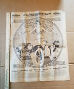 1923 Chicago American Annual Automobile Section Chicago Auto Show Hudson Nash ++