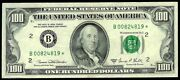 1969 C New York 100 Federal Reserve Bank Star Note Au Condition Fr 2166-a