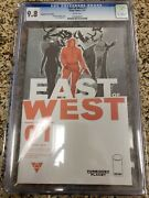 East Of West 1 Forbidden Planet Variant Cover Cgc 9.8 Image Comics
