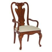 Beaumont Lane Splat Back Dining Chair In Antique Cherry