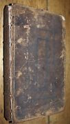 1718 Complete History Of The Holy Bible Vol 1 Laurence Howel Antique Study Book