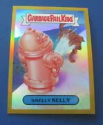 2014 Garbage Pail Kids Gpk Chrome Series 2 Gold Refractor R8a Smelly Kelly