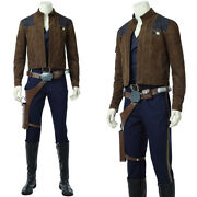 A Star Wars Story Han Solo Cosplay Costume Cosplay Outfit Fancy Dress Halloween