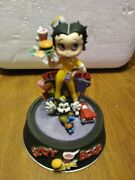 Betty Boop The Boop Oop-a-doop Diner 1995 Hand Painted Limited Edition Figurine