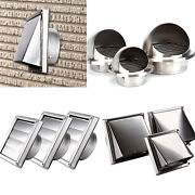 Wall Ceiling Air Metal Steel Cover Grille Ducting 304 Stainless Steel Vent Hood