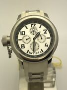 Ladies Russian 1959 Diver White Rubber Band Silver Dial Watch 1812