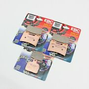 1999 - 2000 Ducati St 4 St4 - Front And Rear Ebc Hh Sintered Brake Pads