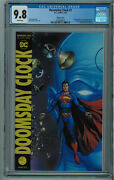 Doomsday Clock 1 Cgc 9.8 Superman Variant High Grade White Pages 2018 019
