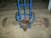 1978 Mgb Complete Differential With Axle Shaft And Drum Rear End 44k Miles