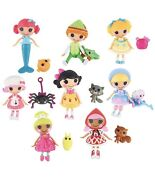 New Sealed Mini Lalaloopsy Tales 3 Inch Mini Dolls With Pets 8 Pack Rare