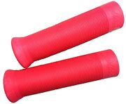 Indian Handlebar Grips Set Pair Motorcycles Vintage Chief Scout 741 Classic Red