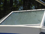 Chris Craft Sea Hawk 22 Port Front Windshield This Single Piece Only