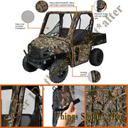 Camo Cab Enclosure Full Size 2009-2010 Polaris Ranger Xp Hd 500 700 800 And 6x6