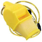 Yellow Fox 40 Sonik Blast Cmg Whistle Official Coach Safety Rescue Free Lanyard