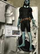 Hellboy Abe Sapien 1/3 Scale Maquette Polystone Statue Sideshow Signed