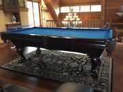 Royal Billiards Table - Extremely High Quality Wood And Craftsmanship