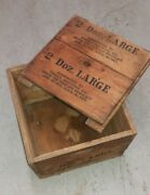 Pabst Brewing Co. Vintage Wood Crate - Rarity- Nice Condition