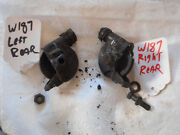 Mercedes Benz W187 Hand Brake Cable Pulleys Rear At Brake Plate Left And Right