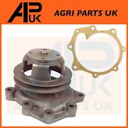 Water Pump Single Pulley For Ford 2000 2600 3000 3600 4000 4600 5000 Tractor