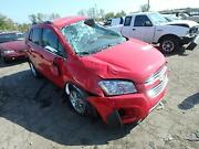 Automatic Transmission 2015 Chevy Trax Front Wheel Drive 1.4l 1k Miles
