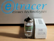 6072a Jan General Electric Ge 12ay7 Black Plate Nos Tube Nib Curve Tracer