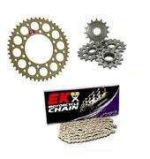 Ktm 950 Lc8 Supermoto/r 2006-2008 Renthal And Ek Chain And Sprocket Kit