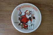 Norman Rockwell Christmas Collector Plate, 2005, Edwin M. Knowles