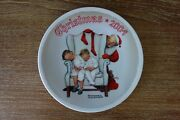 Norman Rockwell Christmas Collector Plate, 2004, Edwin M. Knowles