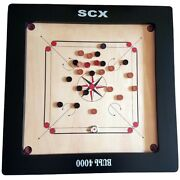 Carrom Board Game Full Size + Free Wood Coins And Stricker Dad Gift For Father Day